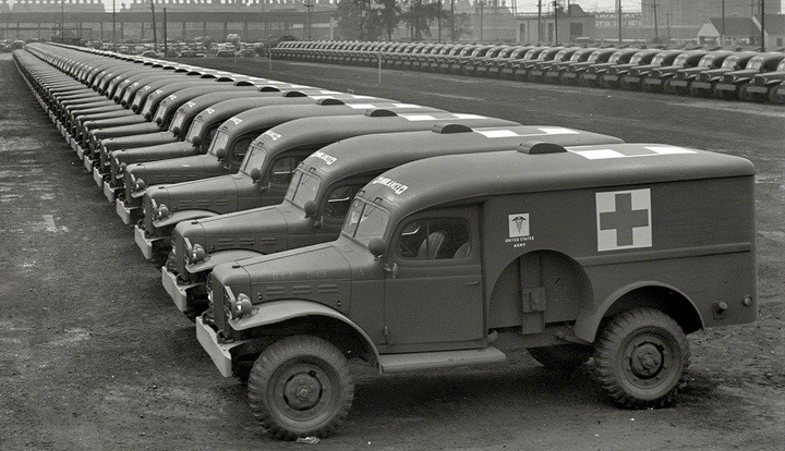army ambulances