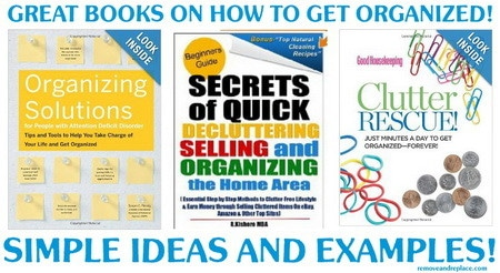 books on how to get organized