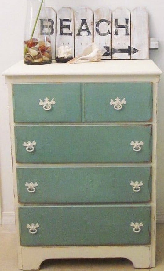 Really Nicely Done Distressed Furniture Look