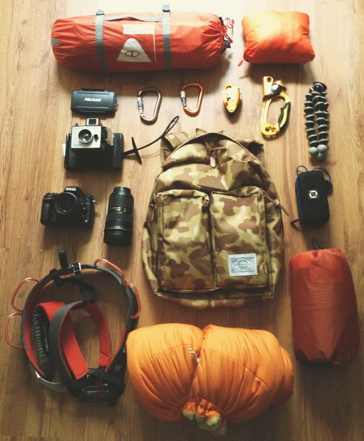 Camping Hiking Backpacking: 40 Pictures Of Pure OCD