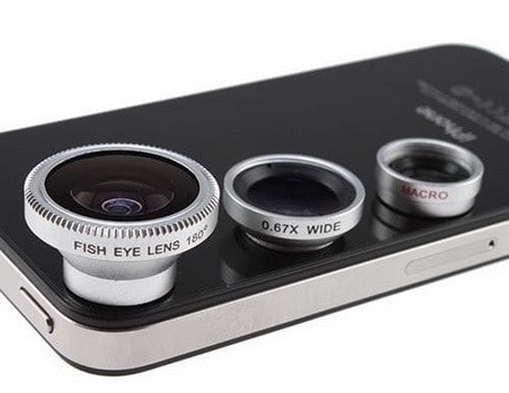 iPhone Lenses by AGPtek