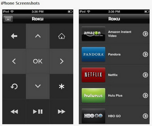 roku for iphone