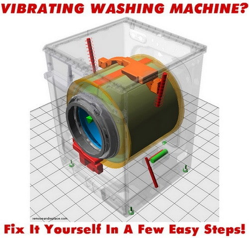 vibrating washing machine FIX!