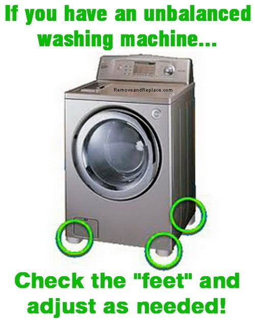 washing machine vibration