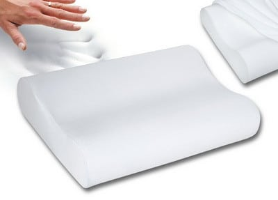 Contour Memory Foam Pillow For Neck Pain