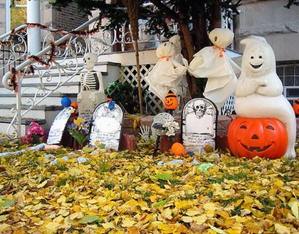 Fun Halloween & Fall Decorating Ideas_04