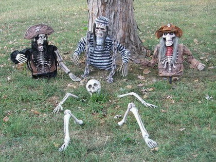 Fun Halloween & Fall Decorating Ideas_16