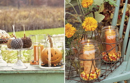 Fun Halloween & Fall Decorating Ideas_17