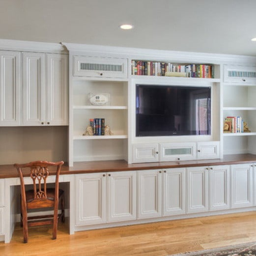 Built In Entertainment Center Design Ideas alcove or flat wall entertainment centers Home Entertainment Center Ideas_30