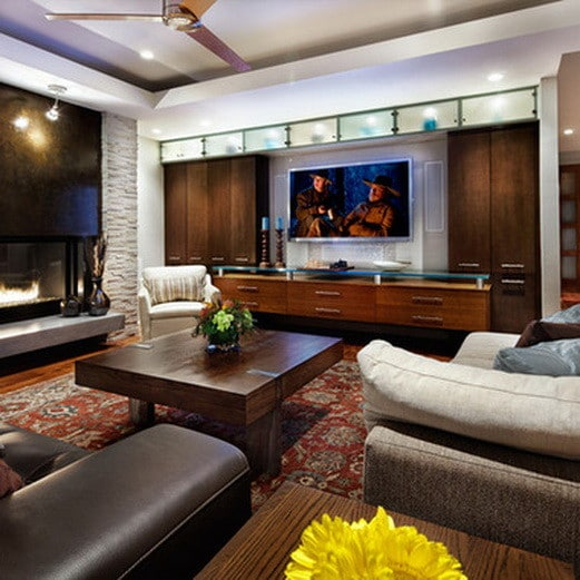 home entertainment center ideas_41 - Built In Entertainment Center Design Ideas