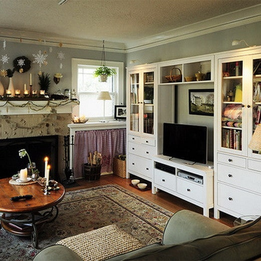 home entertainment center ideas_43 - Built In Entertainment Center Design Ideas