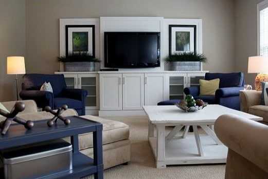 home entertainment center ideas_50 - Built In Entertainment Center Design Ideas