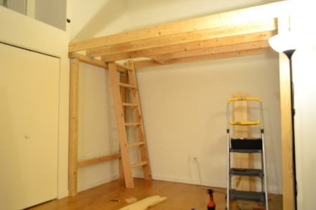 How to build a garage loft for storage garage loft ideas for How to build a garage loft