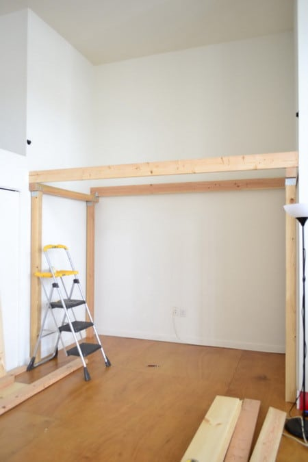 How to build a loft diy step by step with pictures for How to build a 2nd story floor