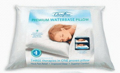 PROFESSIONAL Premium Waterbase Pillow BEST For Neck Pain