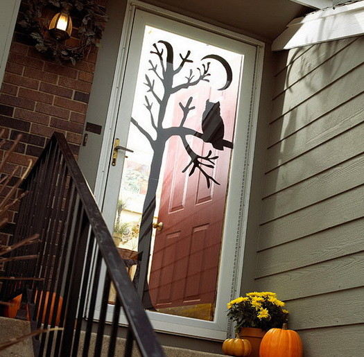 Scary Outdoor Halloween Decorations And Silhouettes_03