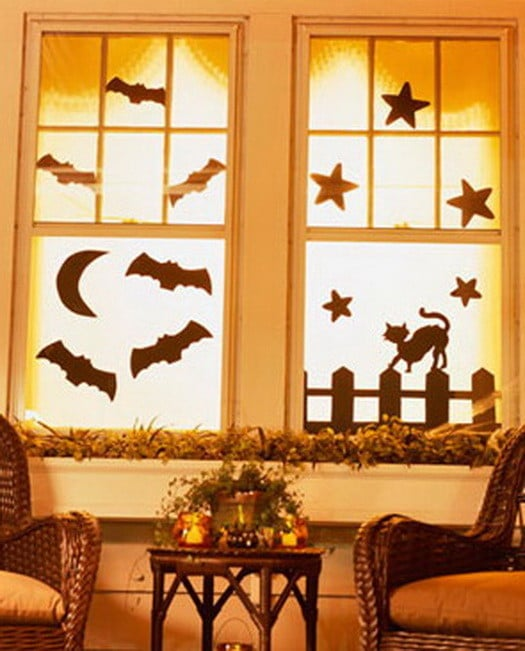 Scary Outdoor Halloween Decorations And Silhouettes_22