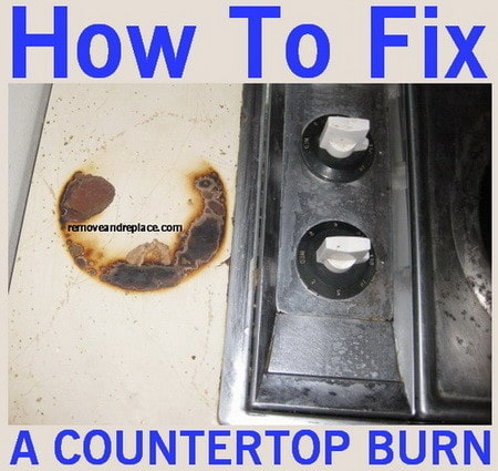 How to repair countertop