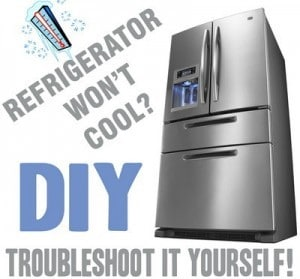 Fridge Wont Cool Removeandreplace Com