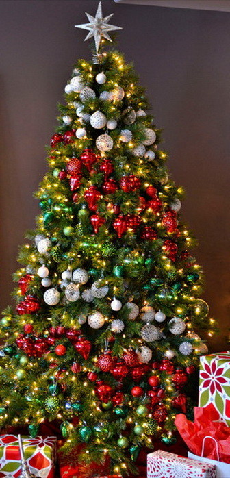 christmas tree decorating ideas_02 - Christmas Tree Decorating Ideas 2016