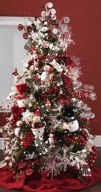Christmas tree decorating ideas for 2016 Decorating for christmas 2014