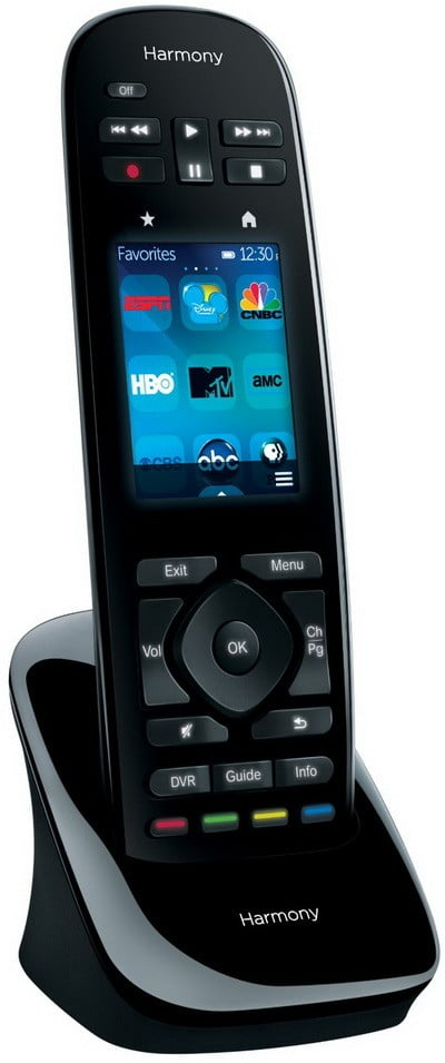 Logitech Harmony Ultimate Remote with Customizable Touch Screen