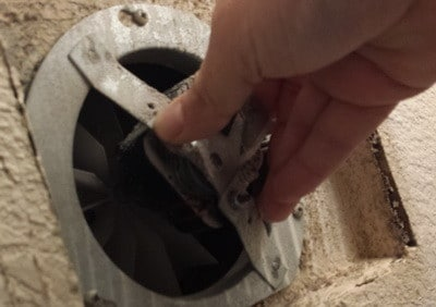 How To Replace A Noisy Or Broken Bathroom Vent Exhaust Fan - Bathroom vent fan repair