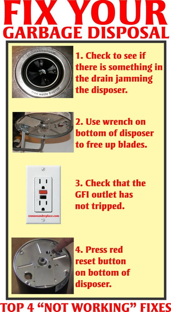Fix A Humming Garbage Disposal Fast And Easy Diy Us2