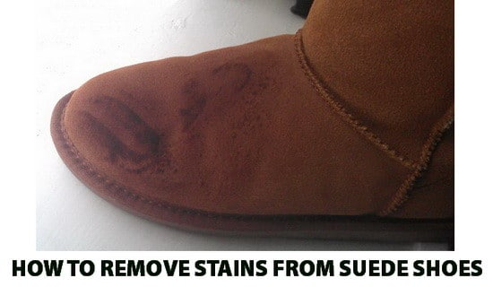How To Remove Oil Stains From Suede Shoes And Boots ...