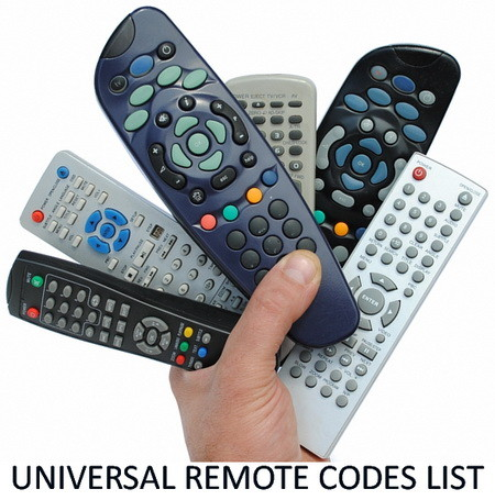 Universal Remote Control Codes List - TV SAT DVR
