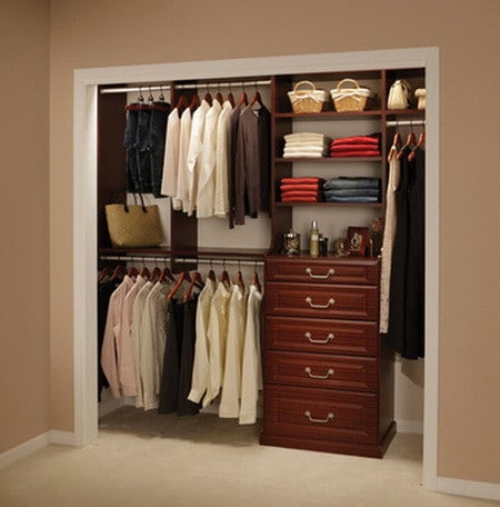 organize small bedroom closet 43 highly organized closet ideas closets 16573