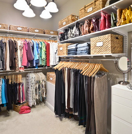 43 Organized Closet Ideas - Dream Closets_10