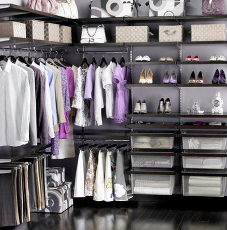 43 Organized Closet Ideas - Dream Closets_35