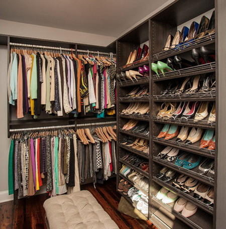 43 Organized Closet Ideas - Dream Closets_39