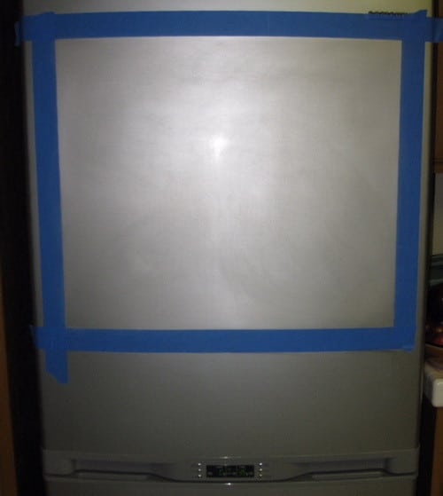Do It Yourself Chalkboard Refrigerator_1
