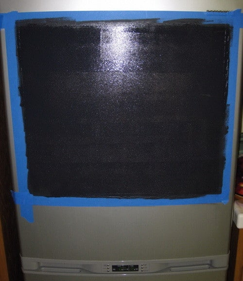 Do It Yourself Chalkboard Refrigerator_3