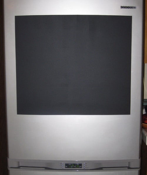 Do It Yourself Chalkboard Refrigerator_5