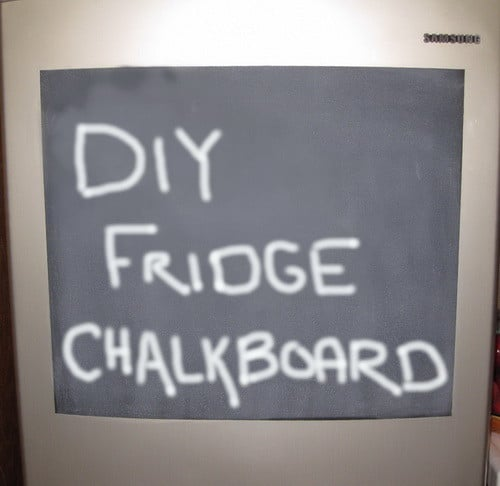 Do It Yourself Chalkboard Refrigerator_7