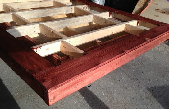 How To Build A Platform Bed With Plywood