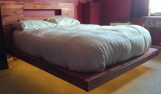 Floating Bed With LED Lighting_11