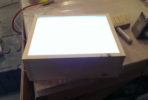 How To Build An LED Light Table_10