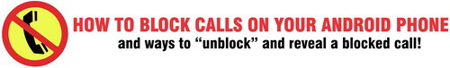 block calls using android
