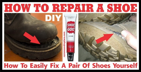 Shoe Torn Repair