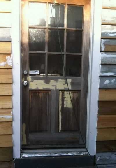 How To Fix A Shrinking Or Swelling Exterior Door Removeandreplace