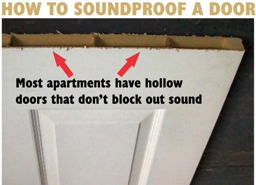 how to soundproof a bedroom door do it yourself