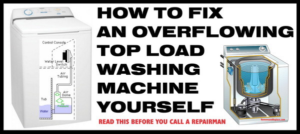 washer overfill