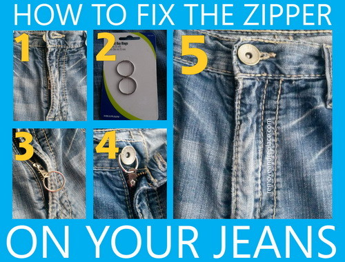 How to fix the zipper on your jeans zipper ccuart Images