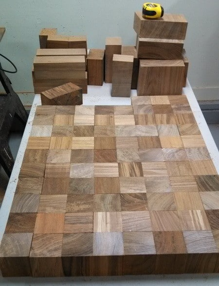 Coffee Table Made From Recycled Teak Wood_04