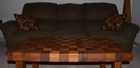 Coffee Table Made From Recycled Teak Wood_12