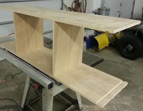 Do It Yourself TV Entertainment Stand_3